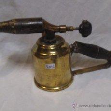 Antigüedades: ANTIGUO SOPLETE DE METAL RESTAURADO. Lote 44340664