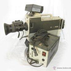Antigüedades: CAMARA BROADCAST DE TELEVISION IKEGAMI ITC-350 CON MANUAL DE INSTRUCCIONES. OBJETIVO FUJI - VIDEO. Lote 44349205