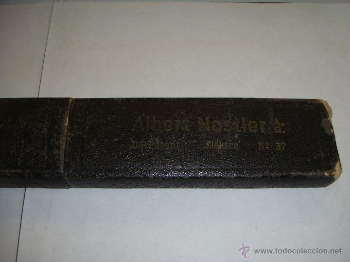 Antigüedades: Antigua Regla de Calculo. Nestler. Con estuche. - Foto 3 - 44383213