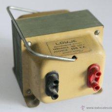 Antigüedades: AUTOTRANSFORMADOR REVERSIBLE LOYJE 125-220V POTENCIA 500 V.A ZARAGOZA ESPAÑA FUNCIONANDO. Lote 86500075