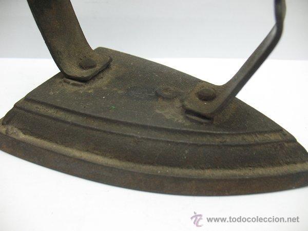 Antigüedades: Plancha antigua de Hierro - Foto 2 - 44465009
