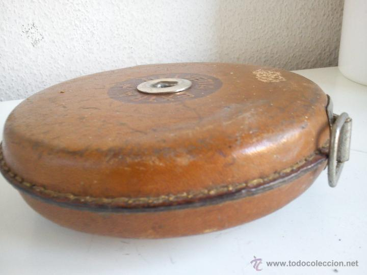 Antigüedades: ANTIGUO METRO HELVETIA EXTRA MIDE 20M. PRINCIPIOS DEL SIGLO XX - Foto 5 - 44620166