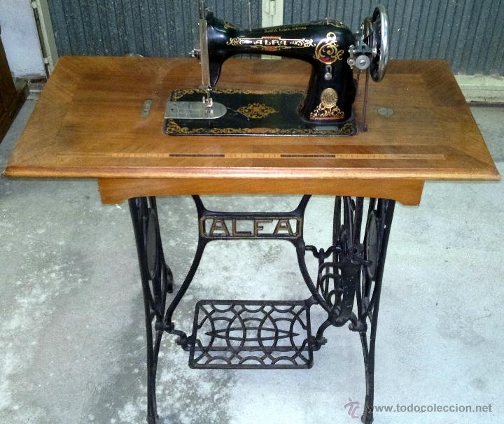 mejor maquina coser alfa (eibar) decorada: dora - Comprar