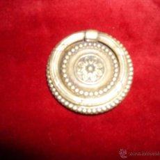 Antigüedades: ANTIGUO TIRADOR DE BRONCE DORADO IMPERIO. Lote 44692829