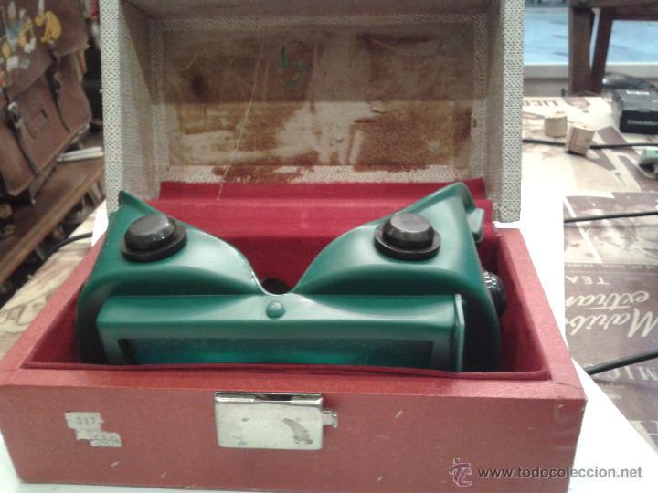 CURIOSAS GAFAS CON CAJA PARA PROTECCION DE LOS OJOS RADIACION U.S.A. (Antigüedades - Técnicas - Otros Instrumentos Ópticos Antiguos)