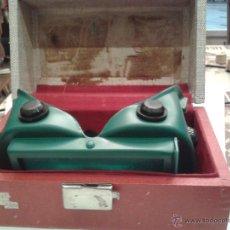 Antigüedades: CURIOSAS GAFAS CON CAJA PARA PROTECCION DE LOS OJOS RADIACION U.S.A.. Lote 44713048