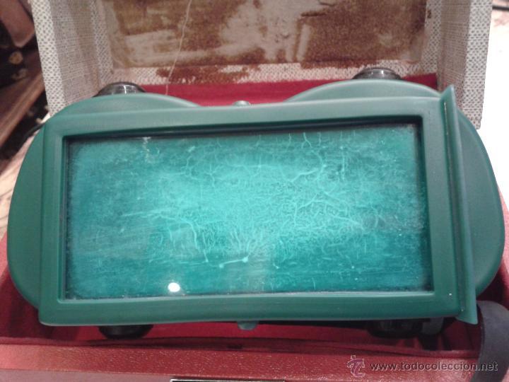 Antigüedades: CURIOSAS GAFAS CON CAJA PARA PROTECCION DE LOS OJOS RADIACION U.S.A. - Foto 2 - 44713048