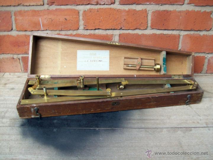 RARISIMO PANTOGRAFO ORIGINAL - APROX. 1870-90 (Antigüedades - Antigüedades Técnicas - Marinas y Navales)