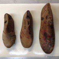 Antigüedades: MOLDES ZAPATOS VARIAS MEDIDAS (G). Lote 44738924