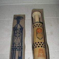 Antigüedades: ANTIGUO DESOBSTRUCTOR DRENO DE MANUFACTURAS METALICAS MADRILEÑAS A ESTRENAR - AÑO 1920-30S.. Lote 44857339