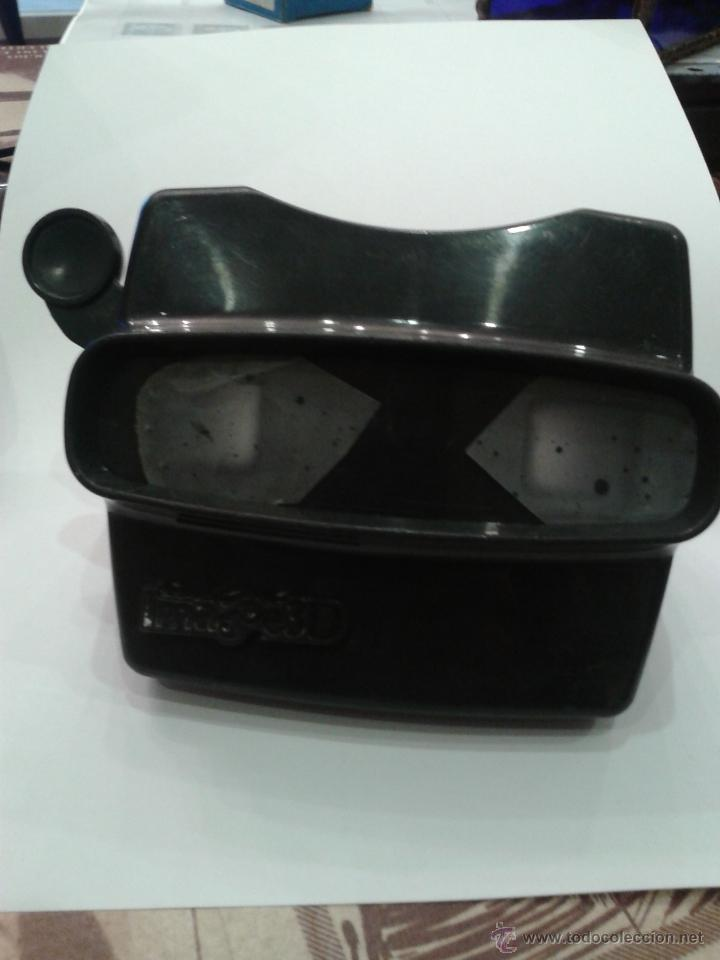 VISOR MARCA IMAGE 3D EN COLOR NEGRO (Antigüedades - Técnicas - Aparatos de Cine Antiguo - Visores Estereoscópicos Antiguos)