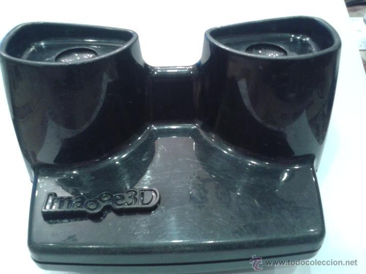 Antigüedades: VISOR MARCA IMAGE 3D EN COLOR NEGRO - Foto 2 - 44907103