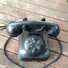 Teléfonos: TELÉFONO SOBREMESA BAQUELITA INTERIOR, AÑOS 50´. Lote 45010724