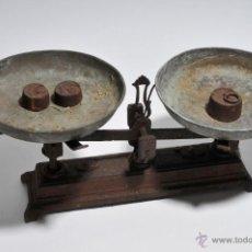 Antigüedades: BALANZA DE HIERRO. Lote 45036100