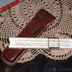 Antigüedades: ANTIGUA Y NUEVA SIN USO REGLA DE CÁLCULOS HEMMI SUN Nº30 EXCLUSIVA HITACHI CO. JAPAN. Lote 45061462