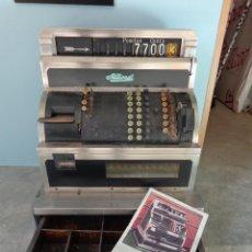 Antigüedades: ¡¡¡ CAJA REGISTRADORA NATIONAL DE 1930 ENORME !!!. Lote 45080731