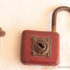 Antigüedades: ANTIGUO CANDADO DE LA SUERTE. Lote 45095122