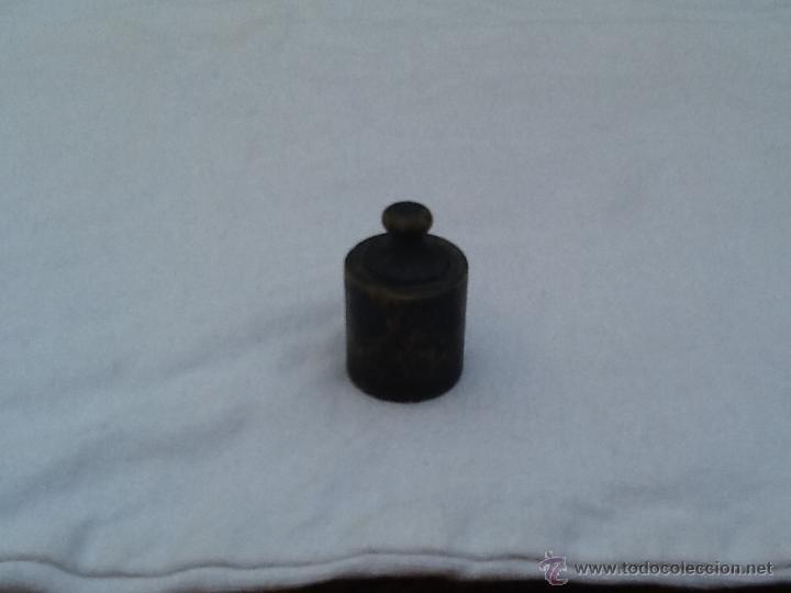 Antigüedades: Pesa antigua de bascula - Foto 2 - 45115197