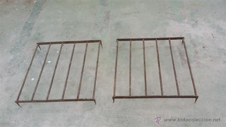 2 SREJA DE HIERRO ANTIGUO PRIMERO DEL SIGLO (Antigüedades - Técnicas - Cerrajería y Forja - Varios Cerrajería y Forja Antigua)