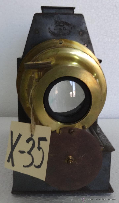 Antigüedades: LINTERNA MÁGICA PRINCIPIOS SIGLO XX - XXX 035 - Foto 6 - 89708152