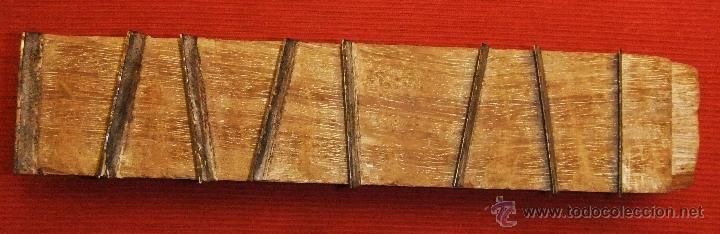 Antigüedades: HERRAMIENTA RASPADOR DE MADERA Y HIERRO - Foto 5 - 45181239