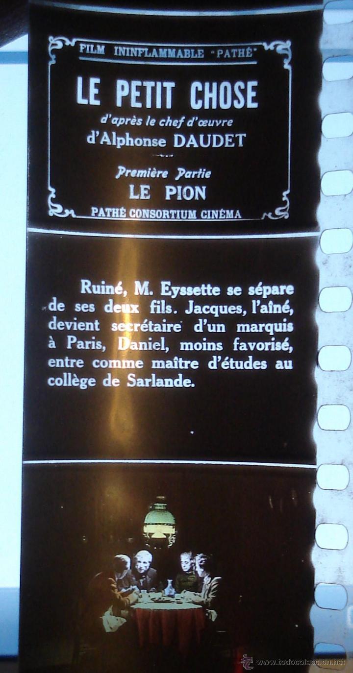 Antigüedades: ANTIGUAS DIAPOSITIVAS COLOREADAS A MANO PATHEORAMA FILMETTE X6 AÑO 1900 - Foto 9 - 45195423