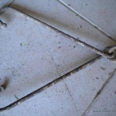 Antigüedades: PAR DE GANCHOS GRANDES UNIDOS. Lote 45198831
