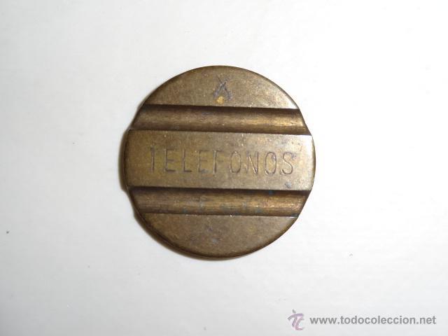 TELEFONOS - MONEDA CABINA ESPAÑA (Antigüedades - Técnicas - Teléfonos Antiguos)