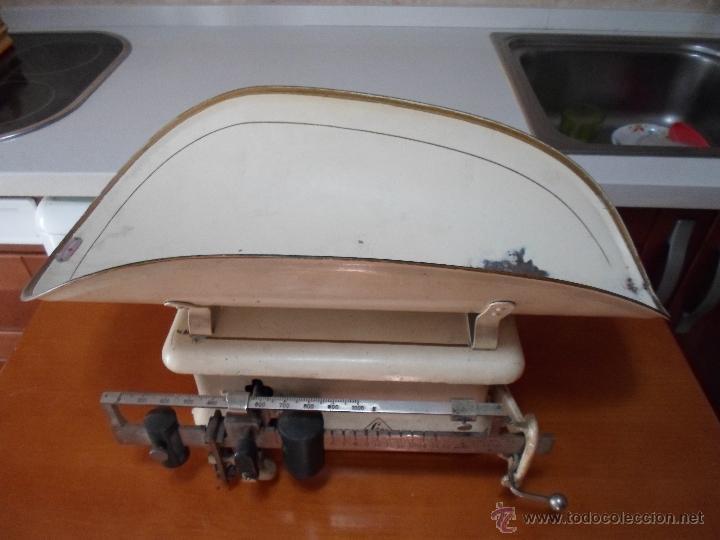 Antigüedades: ANTIGUA BASCULA DE FARMACIA - Foto 8 - 32120024