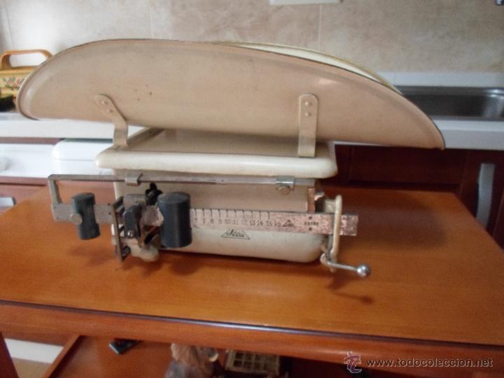 Antigüedades: ANTIGUA BASCULA DE FARMACIA - Foto 13 - 32120024