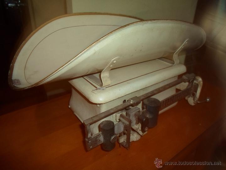 Antigüedades: ANTIGUA BASCULA DE FARMACIA - Foto 14 - 32120024