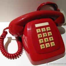 Phones - TELEFONO HERALDO CITESA TECLAS ADAPTADO. ROJO ORIGINAL VINTAGE - 45252914