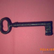 Antigüedades: ANTIGUA LLAVE HEMBRA DE 14 CM . Lote 98545160