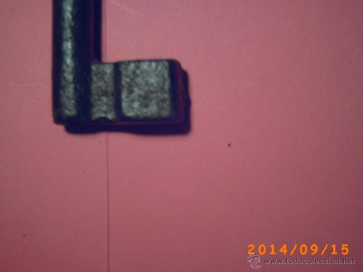 Antigüedades: ANTIGUA LLAVE HEMBRA DE 14 CM - Foto 5 - 98545160