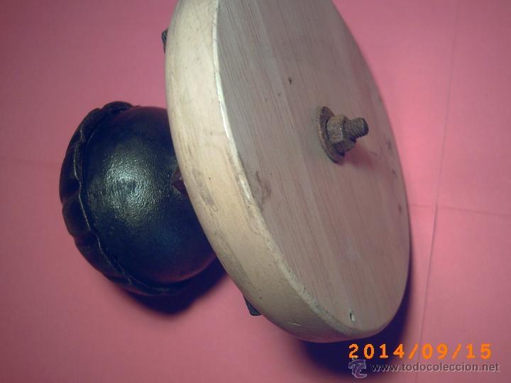 Antigüedades: ANTIGUO TIRADOR O POMO PARA PUERTA DE ENTRADA. - Foto 5 - 45256689