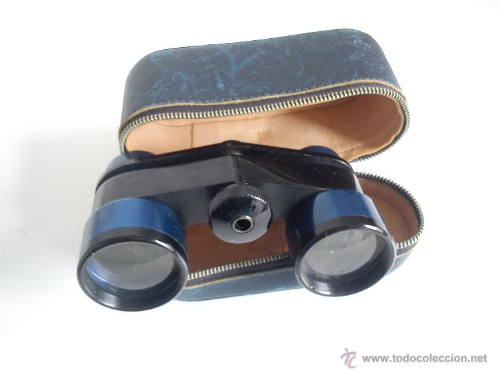 ANTIGUOS Y MAGNIFICOS BINOCULARES DOSA ANOS 60,SELADO PRAZISA STUTTGART.LUXAR 25X28. (Antigüedades - Técnicas - Instrumentos Ópticos - Binoculares Antiguos)