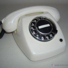 Teléfonos: TELÉFONO ANTIGUO HERALDO BLANCO AÑOS 70, ERICSSON 100% ORIGINAL. ADAPTADO A FIBRA ÓPTICA. Lote 53264076
