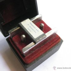 Antigüedades: MÁQUINA PARA MAGNETIZAR CUCHILLAS DE AFEITAR. BAMA. WELT PATENT. BR. IT. 258155.. Lote 45285089