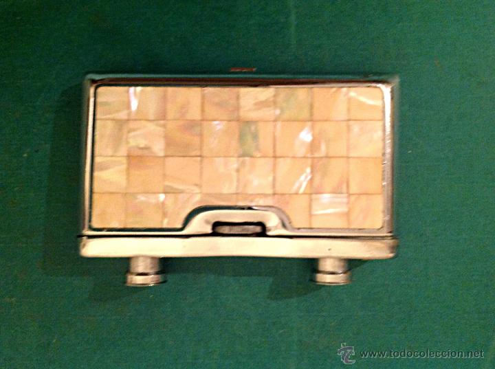 Antigüedades: Antiguos Prismáticos De Teatro Plegables Tapas O Cachas De Nácar - Foto 5 - 45316080