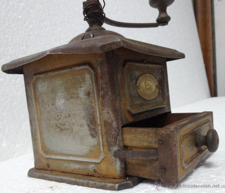 Antigüedades: MOLINILLO DE CAFÉ PEUGEOT - XXX 951 - Foto 4 - 43842824