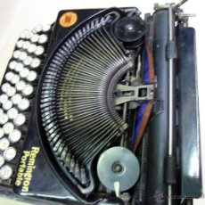 Antigüedades: REMINGTON PORTABLE INGLESA DE LUJO.. Lote 45347902