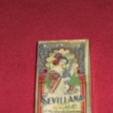 Antigüedades: PAQUETE DE 10 HOJAS DE AFEITAR SIN ABRIR DE LA MARCA SEVILLANA . Lote 45358805