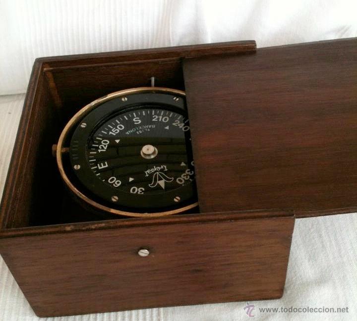Antigüedades: Compás de barco / brújula de barco / brújula náutica / - Foto 5 - 45260852