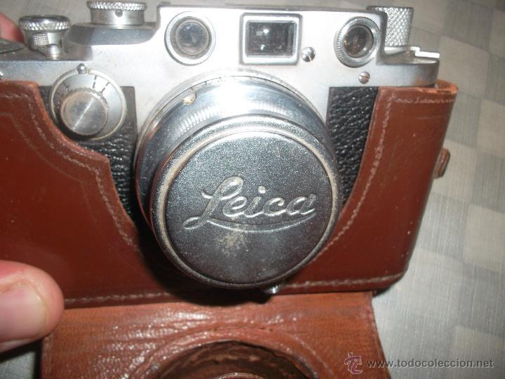 CAMARA LEICA ANTIGUA (Antigüedades - Técnicas - Aparatos de Cine Antiguo - Cámaras de Super 8 mm Antiguas)