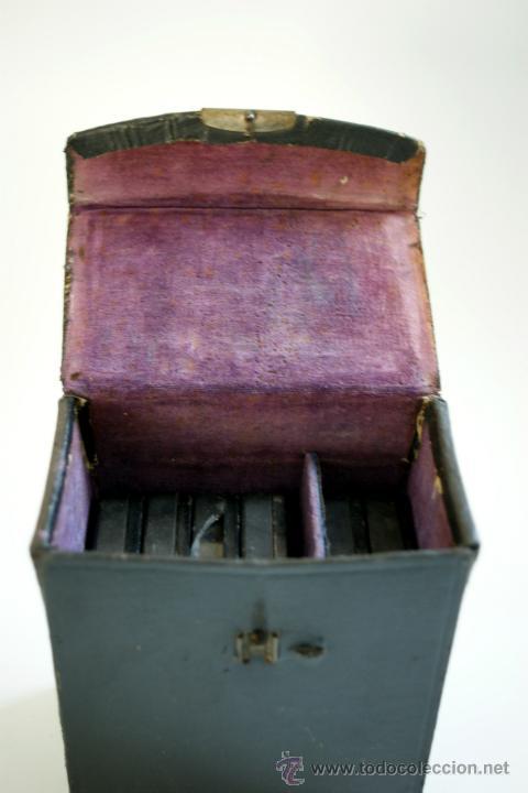Antigüedades: ESTUCHE CONTENIENDO SEIS PELICULAS PATHEX - Foto 2 - 45400244