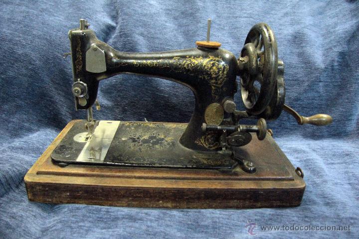 Antigua maquina de coser singer, siglo xix. en - Vendido