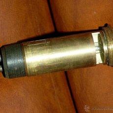 Antigüedades: ILUMINADOR INTERNO DE ANTIGUO TELESCOPIO O VISOR DE ARTILLERÍA, ETC. Lote 45496920