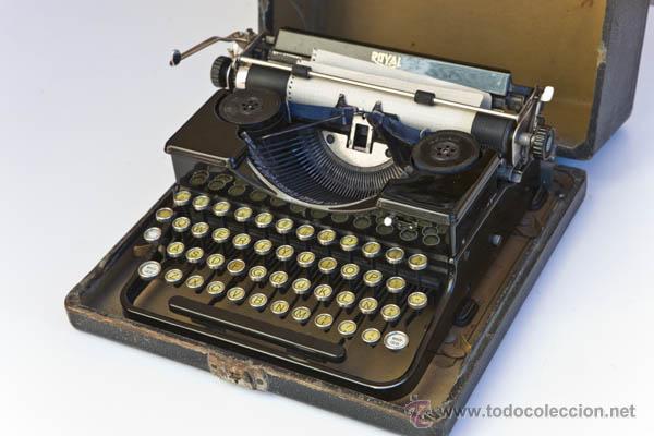MAQUINA DE ESCRIBIR ROYAL MINI (Antiquitäten - Technische - Antike Schreibmaschinen - Royal)