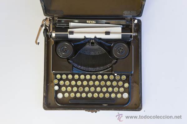 Antiquitäten: Maquina de escribir Royal Mini - Foto 3 - 45547314