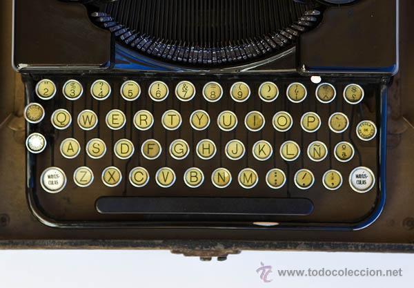 Antiquitäten: Maquina de escribir Royal Mini - Foto 4 - 45547314
